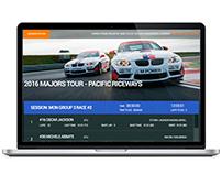 Design of Race website