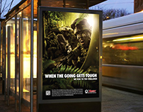 Army Recruitment Centre - We Rise to the Challenge