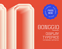 Bong Gio Display/ Free Typeface