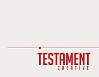 Testament Creative, LLC Branding and Site Design