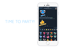 Party Frog Telegram sticker pack
