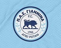 PAS GIANNINA FC REBRANDING PROPOSAL