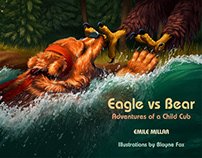 Eagle vs Bear: Adventures of a Child Cub