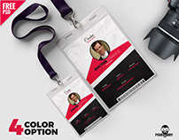 Photo Identity Card Template Set