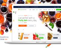 E-commerce Organic Food Store
