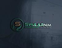 SWAARNIM Naturscience. Health Company Logo.