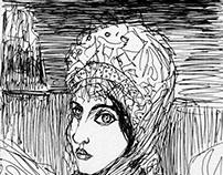 Swan princess sketch