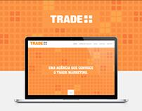 Site responsive da Agência Trade Mais