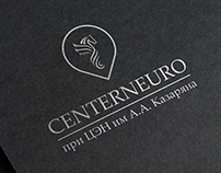 "Logo and branding identity ""CenterNeuro"""