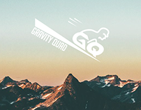 Gravity Quad logo. New Zealand