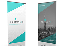 Fortune 5 Roll-up Banner