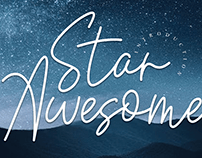 FREE | Star Awesome Font