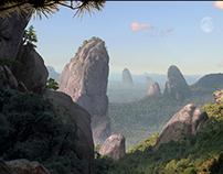 Pointing Peaks Valley