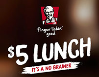 KFC - $5 Lunch