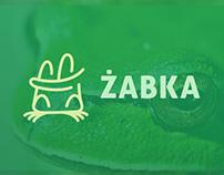 Żabka - rebranding (concept)