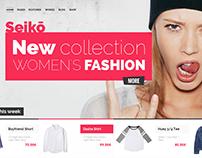 Seiko - Shopify Themeforest Theme