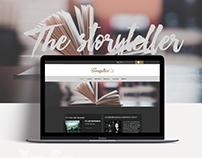 Responsive website The Storyteller