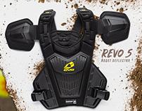 EVS 2019 REVO 5 — MX Roost Deflector