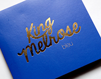 King Melrose Bleu – Album Cover