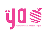 YAO - Natural Drink & Frozen Yogurt // Branding
