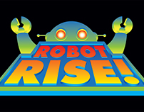 Robot Rise Card Game for Happy Harpy Games