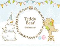 """Teddy Bear: little story"""