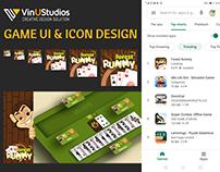 Forest Rummy Game UI Design