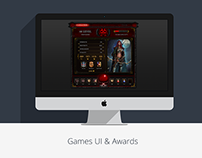 Games UI & Awards