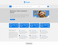 Bloggite Responsive Business Joomla 2.5 & 3 Template