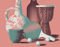 Still life poster - personal work