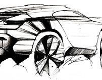 #5 Automotive Sketches