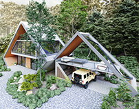 Forest House by Pourya Dabbagh & Siamak Afrouzian