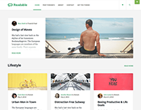 Readable WordPress Theme like Medium.com