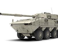 Concept unified combat platform 8x8