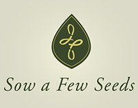 Sow a Few Seeds Logo Design