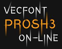 Color font Prosh3