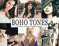 Free Boho Tones Mobile & Desktop Lightroom Preset