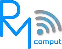 RM Computers Logo Branding