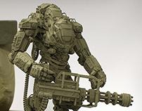 Mech Juggernaut sculpt