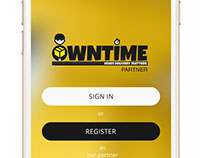 OwnTime Delivery Partner App (iOS)