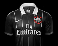 Corinthians Nike 2015-2016 Jerseys Proposal