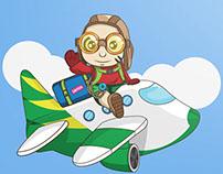 Riding A Jet
