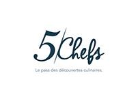 5 CHEFS, Pass de découvertes gastronomiques