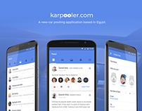 Karpooler.com Android App Project