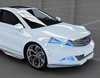 Azerant | Car concept proejct
