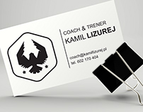 Business Card Design for Coach & Personal Trainer