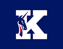 Keio University Lacrosse Team Logo