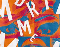 Poster design project Pedro Almodovar Madrid me mata