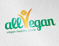 All Vegan - logo, stationery