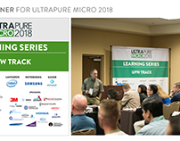 Conference Collateral & Signage: UltraPure Micro